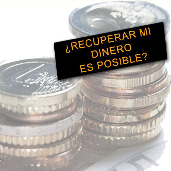 Recuperar el dinero pagado de m s en la for Devolucion dinero clausula suelo